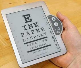 E Ink schermen